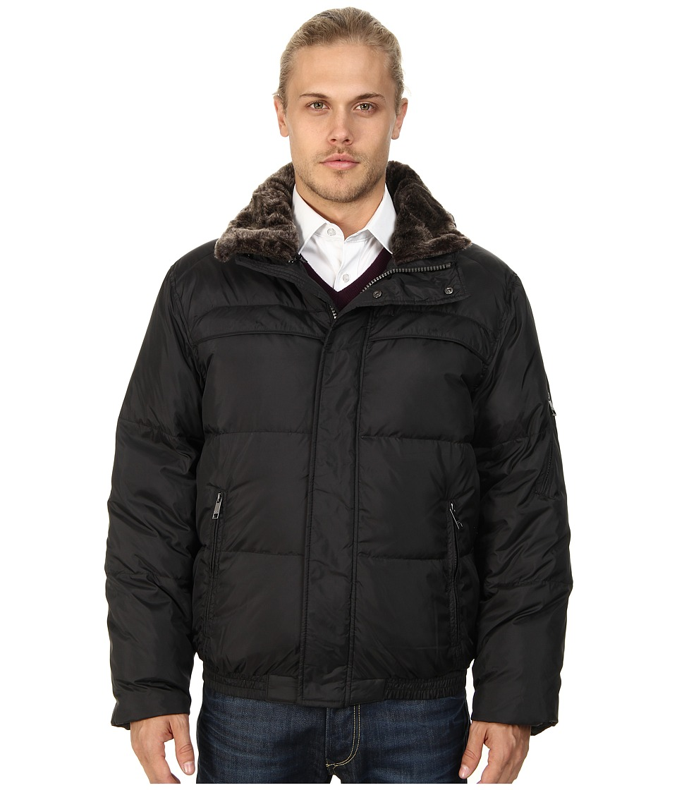 Marc New York by Andrew Marc - Fauxmula Down Jacket (Black) Men's Coat