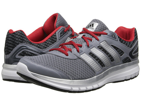 adidas Running - Duramo 6 M (Core Black/Grey/Scarlet) Men's Running Shoes