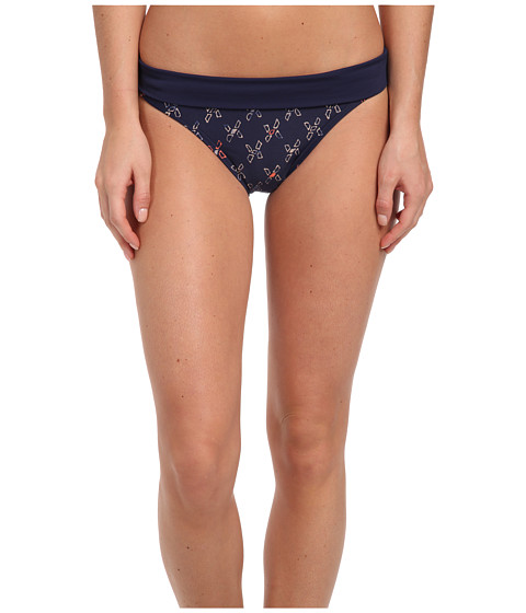 Lole - Mojito High Swim Bottom (Amalfi Blue Windmill) Women's Swimwear