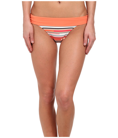Lole - Mojito High Swim Bottom (Nougat Multi-Stripe) Women