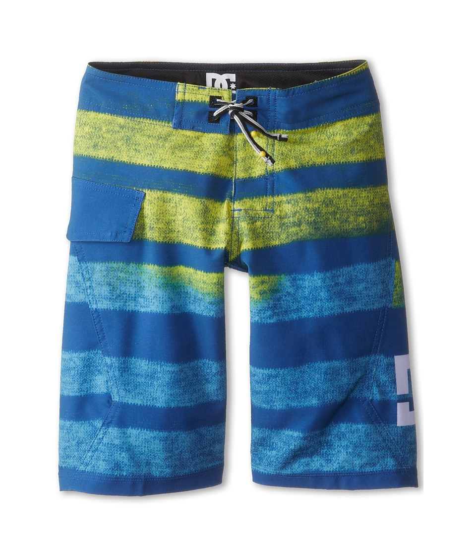 DC Kids - Titanium Boardshort (Big Kids) (Bright Blue) Boy's Swimwear