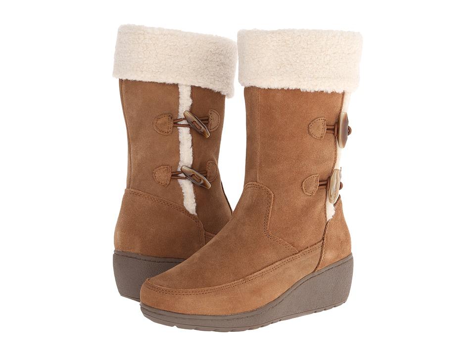 Khombu - Clara (Tan) Women's Cold Weather Boots