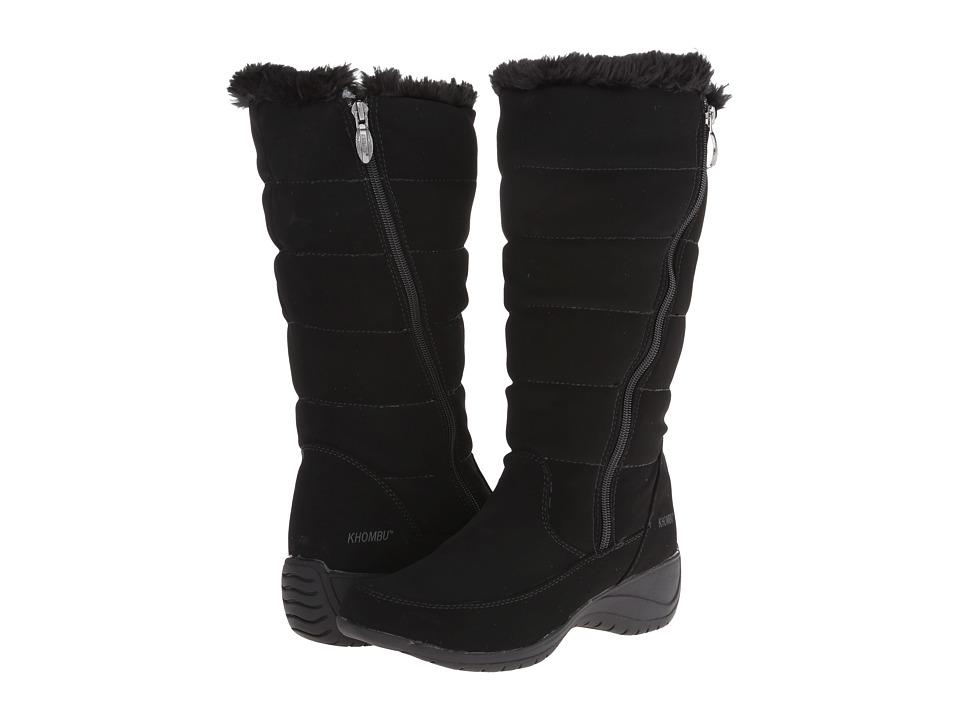 Khombu - Abby (Black) Women's Boots
