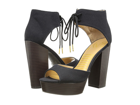 DV8 - Philli (Black Canvas) High Heels