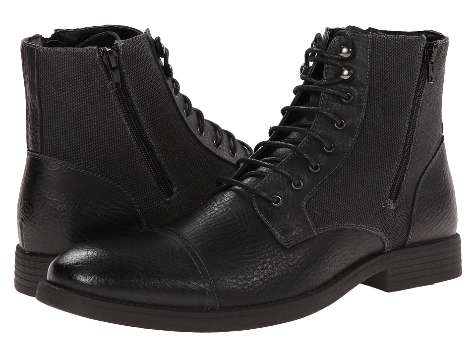 Robert Wayne - Edgar (Black) Men's Boots
