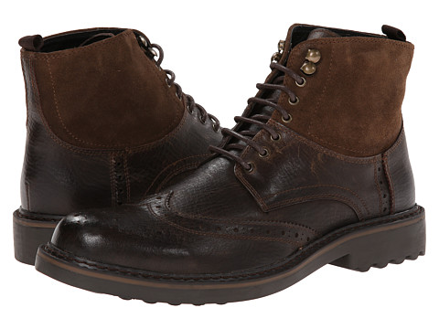 Robert Wayne - Lino (Dark Brown) Men's Boots
