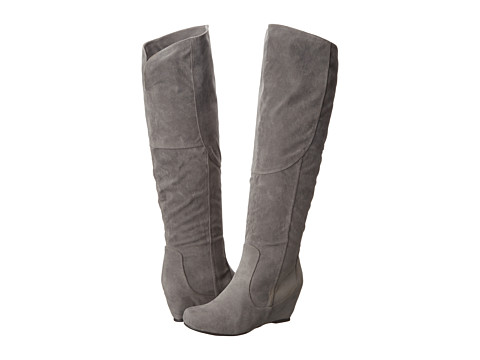 Diba - Kick It In (Grey Imitation Suede) Women