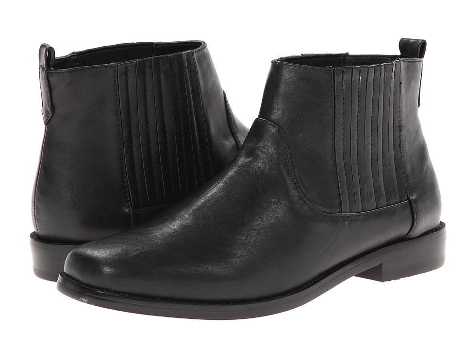Image of Bass - Blaine (Black PU) Women's Boots