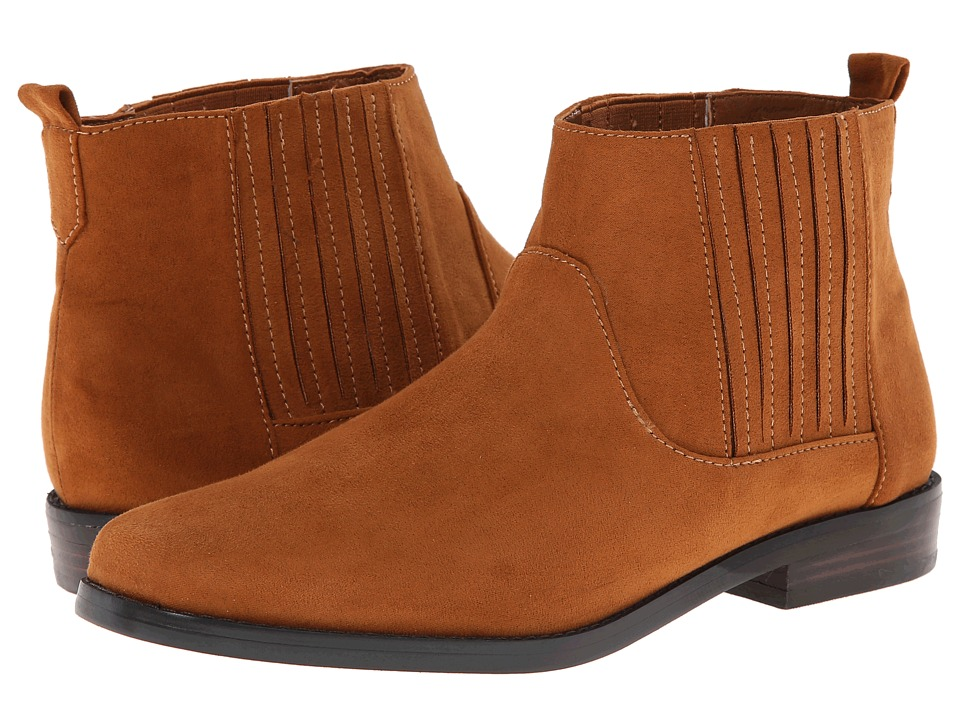 Image of Bass - Blaine (Whiskey PU Suede) Women's Boots