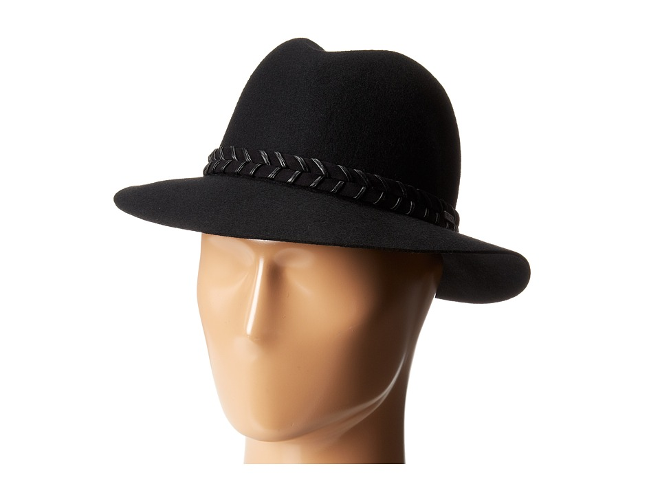 RVCA - Rosy Fruits Fedora (Black) Fedora Hats