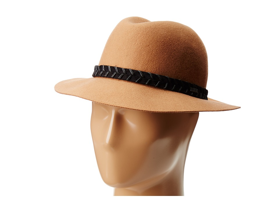 RVCA - Rosy Fruits Fedora (Tan) Fedora Hats
