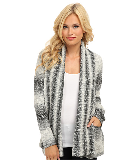 kensie - Ombre Cardigan (String Combo) Women's Sweater