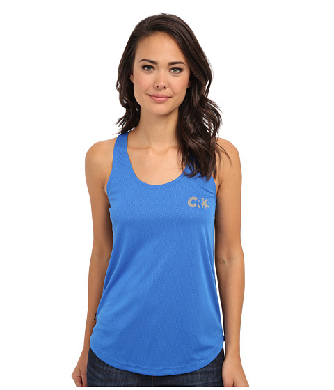 Crooks & Castles - Knit Tank Top - Sportek (Cobalt/Black Digi Camo) Women's Sleeveless