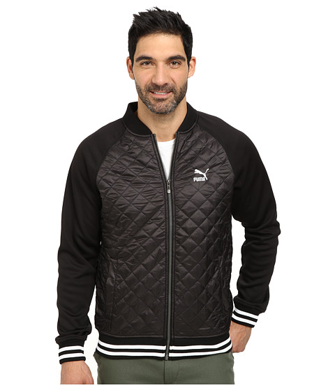 PUMA - Lifestyle Jacket (Black) Men's Jacket