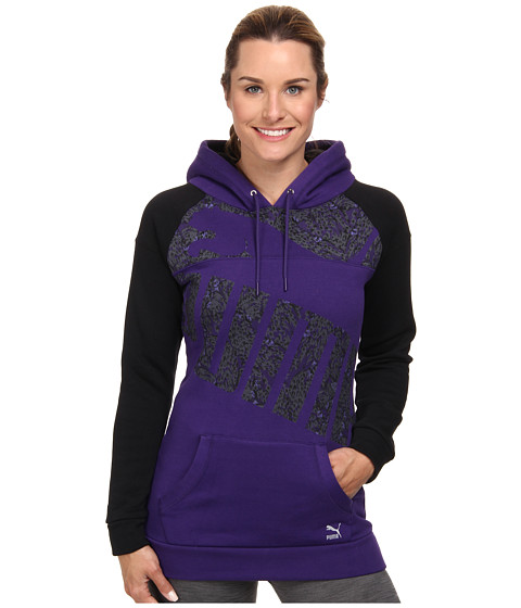 PUMA - Graphic Hoody (Parachute Purple) Women's Sweatshirt