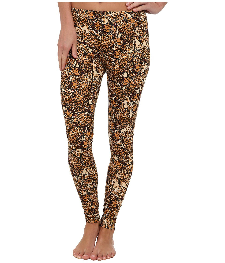 PUMA - Printed Leggings (Cashew) Women's Casual Pants