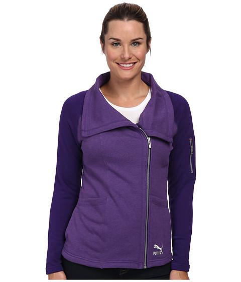 PUMA - Lifestyle Jacket (Parachute Purple Heather) Women's Jacket