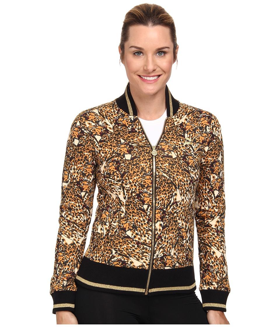 PUMA - Printed Bomber Sweat (Cashew) Women's Coat