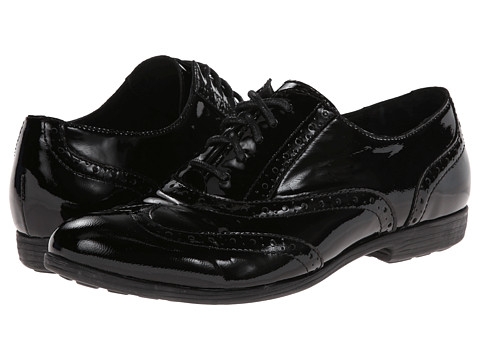 Born Ashleigh (Black Patent) Women's Lace up casual Shoes