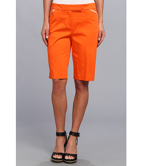 Jones New York - Bermuda Short (Orange Zest) Women's Shorts