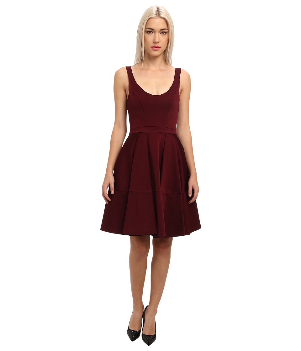 ZAC Zac Posen - Charlotte Dress (Red Wine) Women's Dress