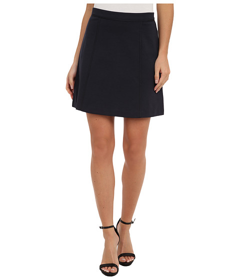 MICHAEL Michael Kors - Flare Seamed Mini (New Navy) Women's Skirt