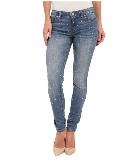MICHAEL Michael Kors - Denim SML Stud Skinny Jean in Veruschka Wash (Veruschka Wash) Women