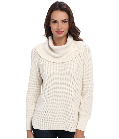 MICHAEL Michael Kors - Cowl Neck Sweater (Cream) Women's Sweater