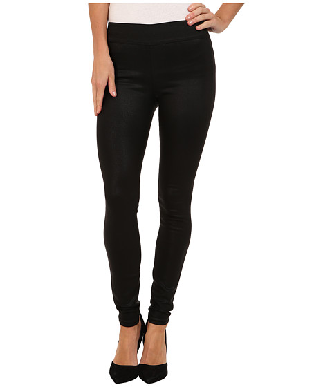 A Gold E - Natalie Legging in Coated Noir (Coated Noir) Women's Clothing