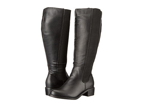 Fitzwell - Trenton Extra Wide Calf (Black Tumble) Women's Wide Shaft Boots
