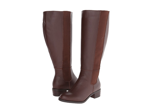 Fitzwell - Trenton Extra Wide Calf (Cognac Tumble) Women's Wide Shaft Boots