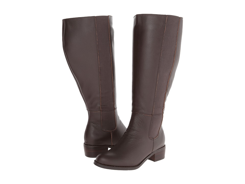 Fitzwell - Trenton Extra Wide Calf (Chocolate Tumble) Women's Wide Shaft Boots