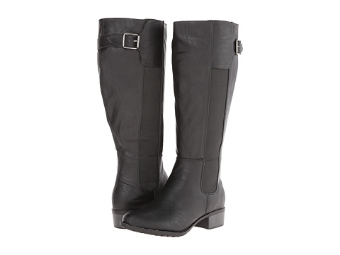 Fitzwell - Benton Wide Calf (Black) Women's Wide Shaft Boots