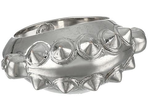 Alexander McQueen - Studs Skull Ring (Silver) Ring