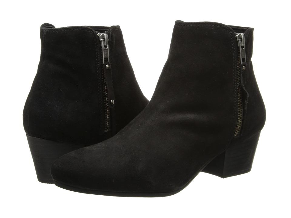 Diba - Oh Sage (Black Suede) Women's Zip Boots