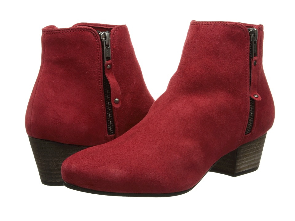 Diba - Oh Sage (Red Suede) Women's Zip Boots