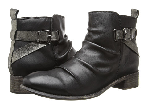Diba - Ris Kee (Black/Pewter Leather) Women's Boots