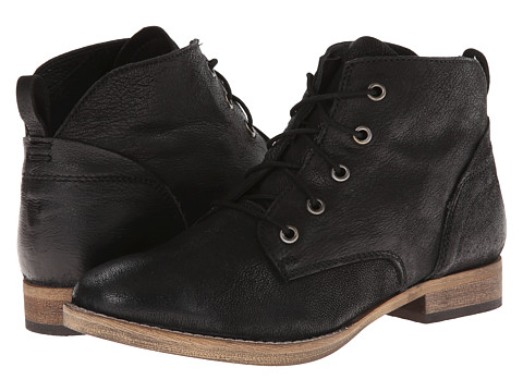Diba - E Nuff (Black) Women's Lace-up Boots