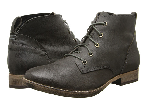 Diba - E Nuff (Dark Grey) Women's Lace-up Boots