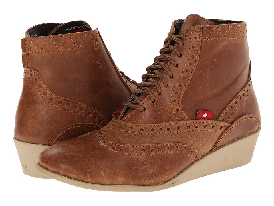 Oliberte - Lalina (Rustic Brown Pullup) Women's Boots