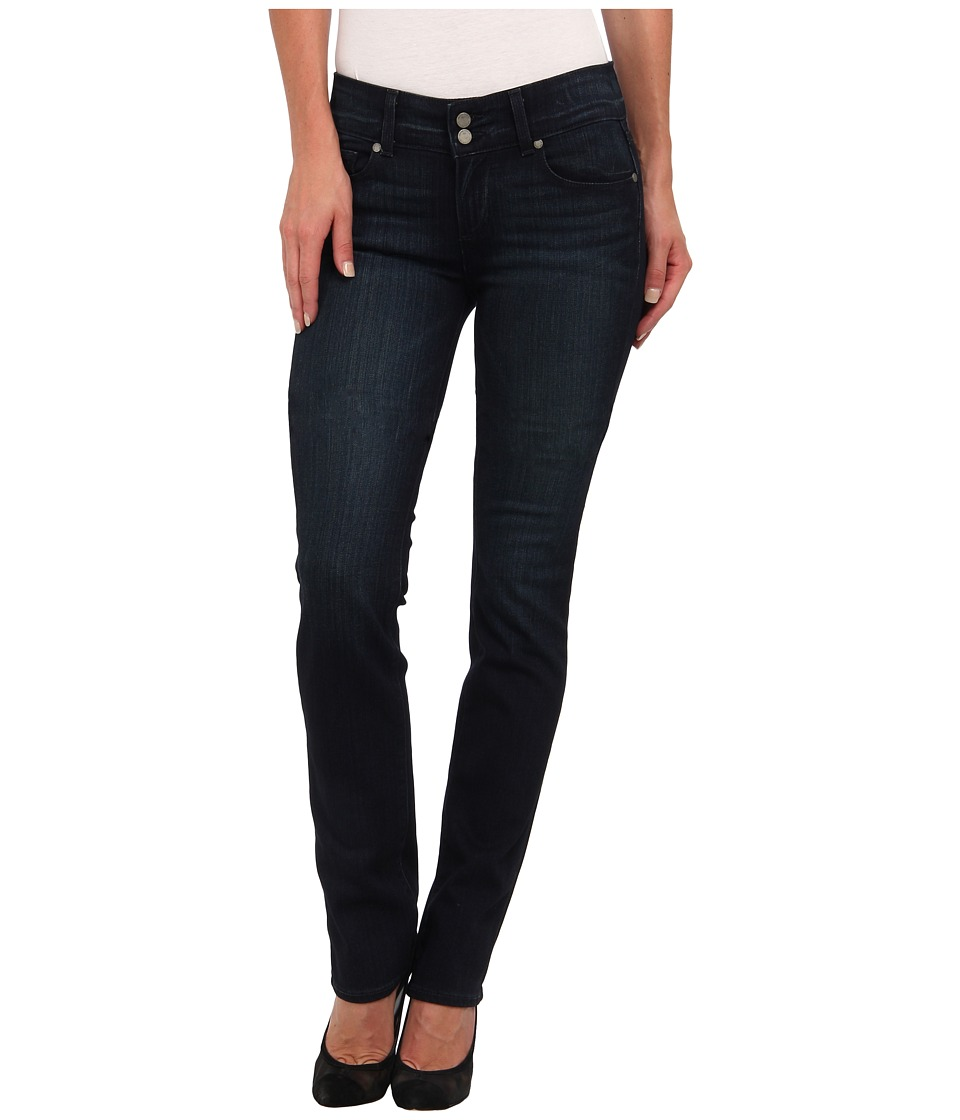 Paige - Hidden Hills Straight in Midlake (Midlake) Women's Jeans