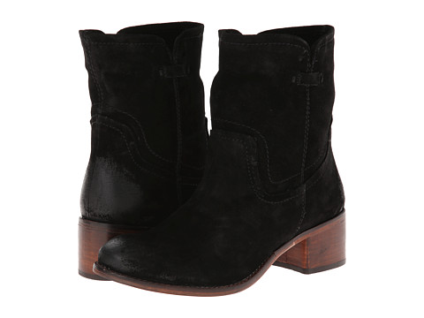 Diba - West Haven (Black Suede) Women's Zip Boots