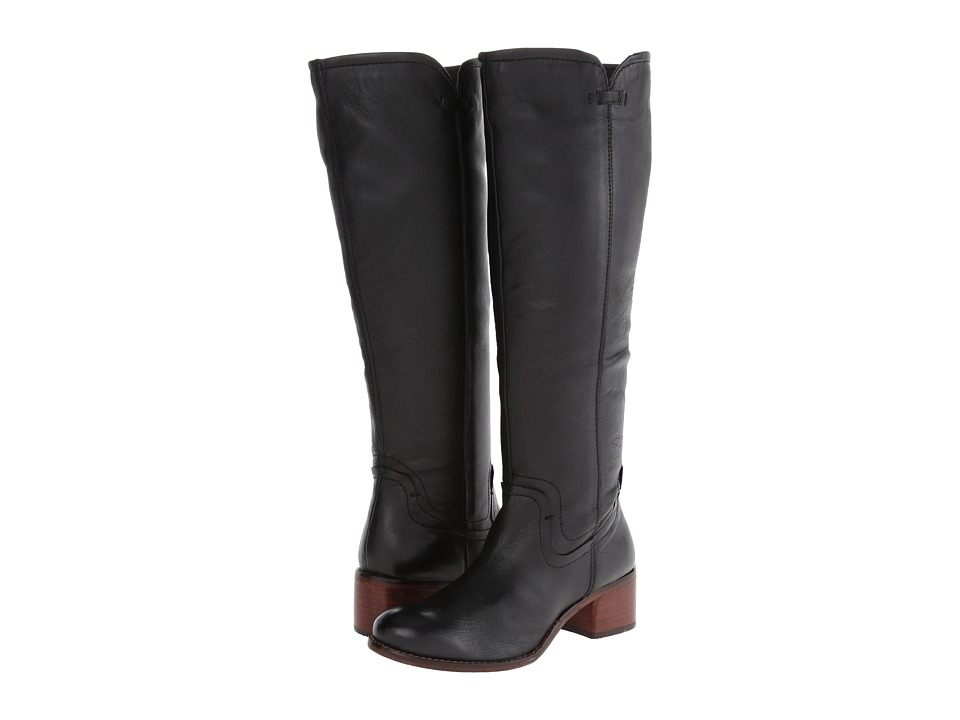 Diba - Wind Rider (Black Leather) Women's Dress Boots
