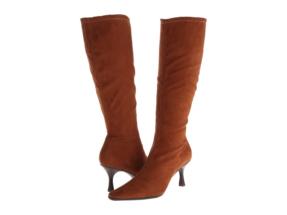 Diba - Gill (Cognac Imi Suede) Women's Dress Zip Boots