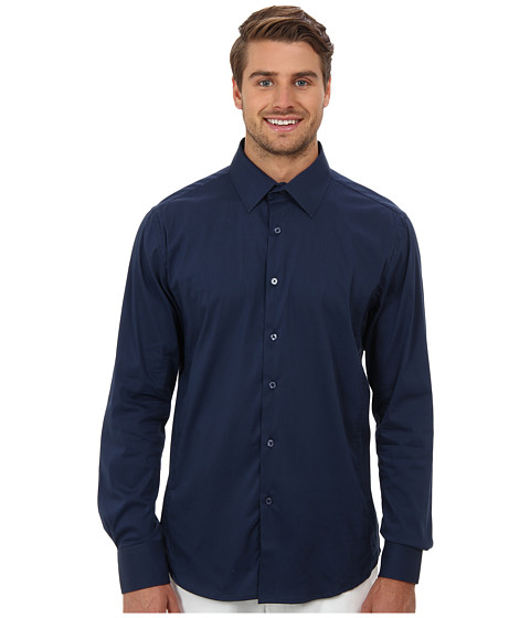 Sovereign Code - Zone L/S (Navy 2) Men's Long Sleeve Button Up