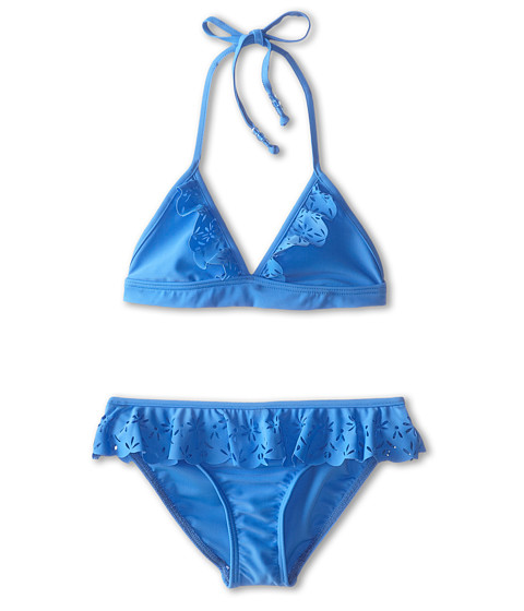 Seafolly Kids - Summer Camp Tri Kini (Little Kids/Big Kids) (Denim Blue) Girl
