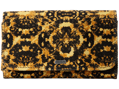 RVCA - Velvet Eclipse Wallet (Citron) Wallet Handbags