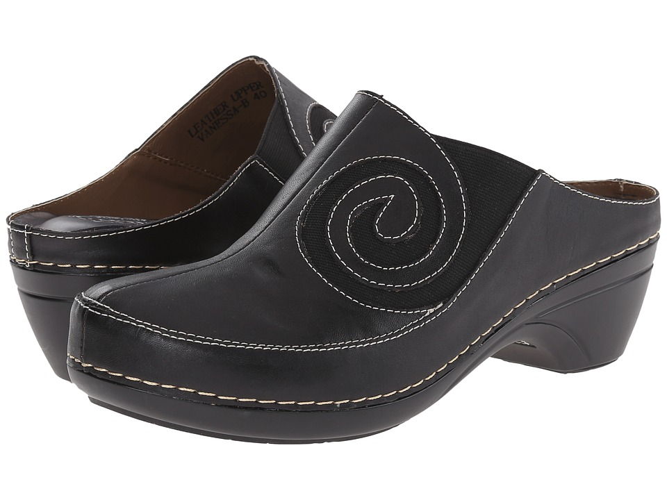 Spring Step - Vanessa (Black) Women's Shoes