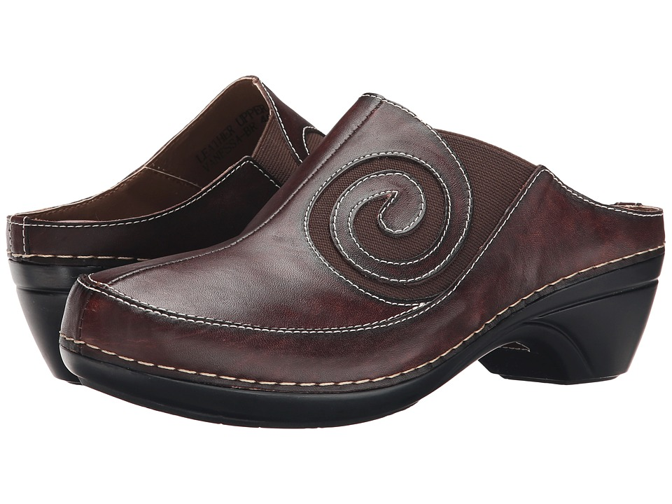 Spring Step - Vanessa (Brown) Women's Shoes