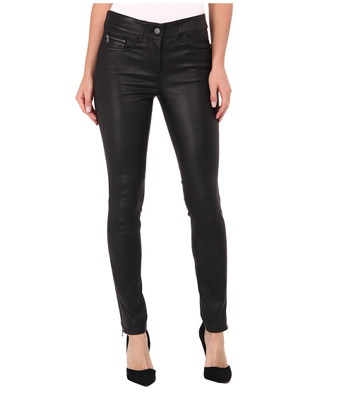 Paige - Daphne Ankle Zip in Black (Black) Women's Jeans